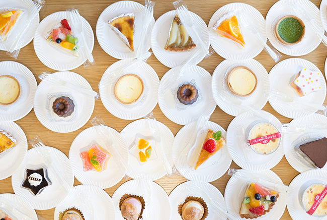 12時間講習恒例のケーキイベント